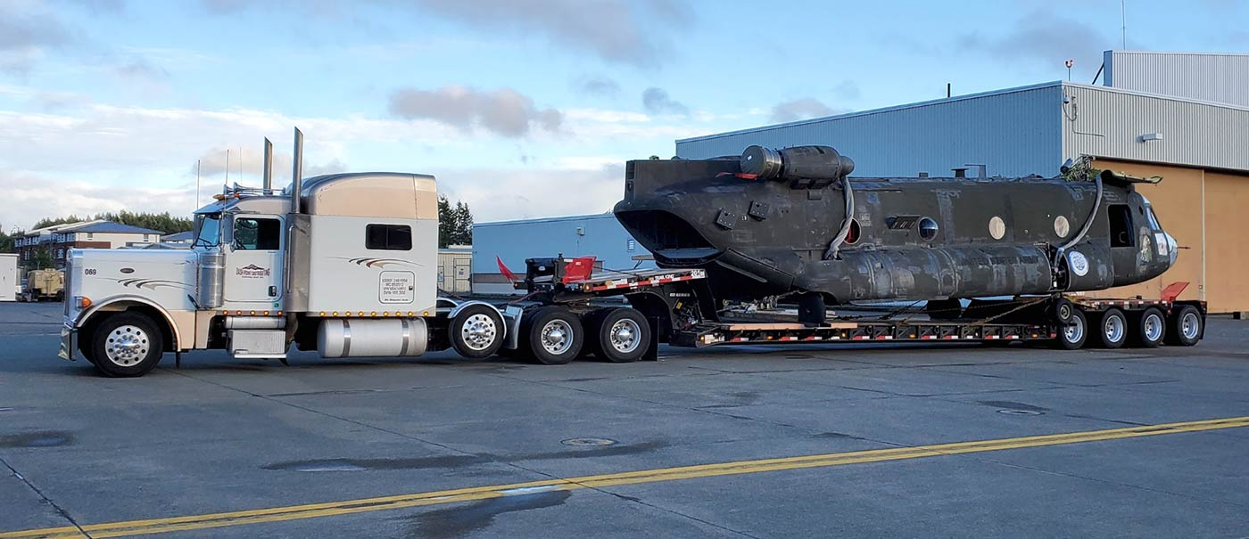 Military Hauling - Helicopter